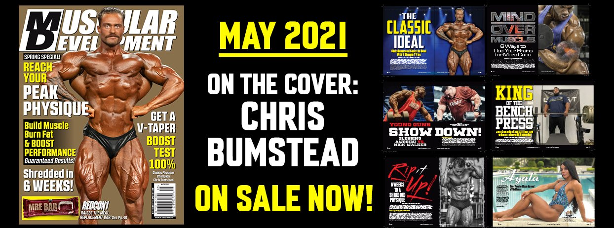 NEXT MD COVER CHRIS BUMSTEAD MAY 2021