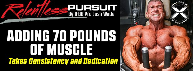 Adding 70 Pounds of Muscle Takes Consistency and Dedication