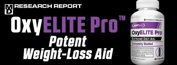 OxyELITE Pro™ Potent Weight-Loss Aid