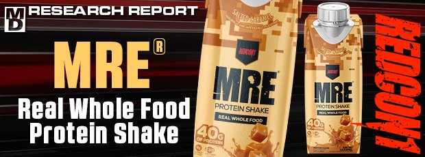 MRE® Real Whole Food Protein Shake